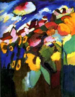 Kandinsky, Garden at Murnau II