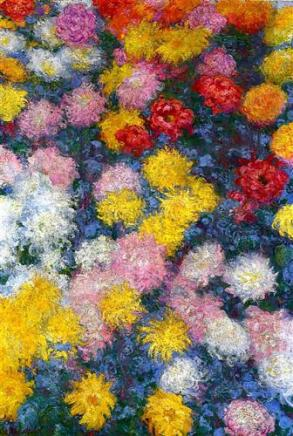 Monet, Chrysanthemums 1897