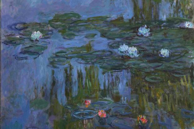 Monet, Water Lilies 1914-15